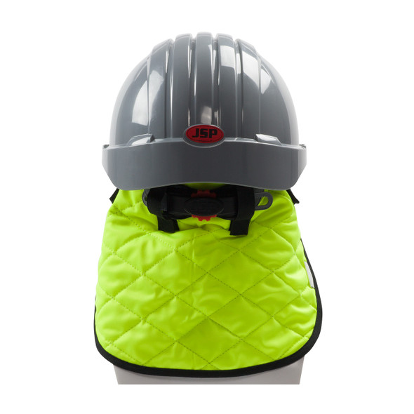 PIP Hi Vis Yellow Evaporative Cooling Neck Shade 396-EZ810 From the Back