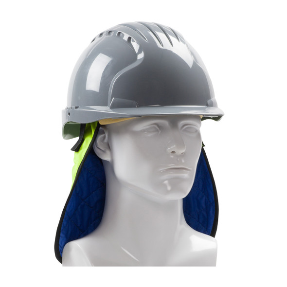 PIP Hi Vis Yellow Evaporative Cooling Neck Shade 396-EZ810 From the Front