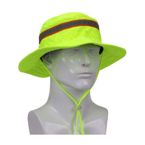 PIP EZ-Cool Hi Vis Yellow Evaporative Cooling Ranger Hat 396-EZ450LY