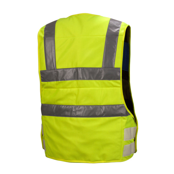 Pyramex Hi Vis Class 2 Yellow Cooling Vest CV200 Back