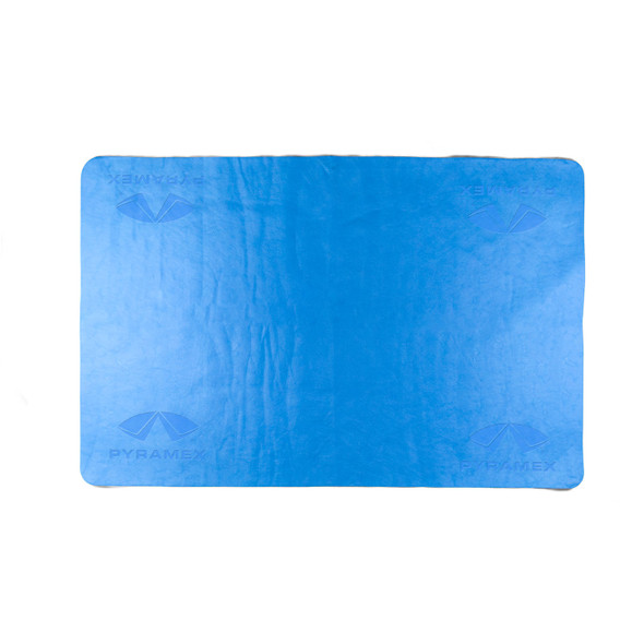 Pyramex Case of 50 Blue Cooling Towels C160-CASE Unwrapped
