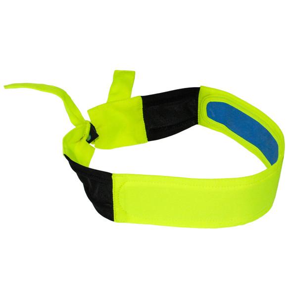 Radians Arctic Radwear Hi Vis Lime Cooling Headband RCS110