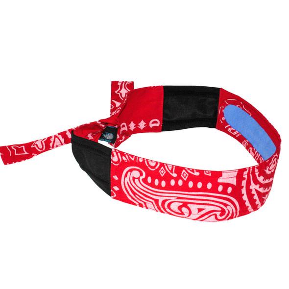 Radians Arctic Radwear Red Paisley Cooling Headband RCS107