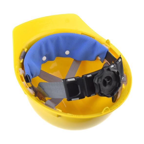 Radians Advanced ARCTIC Radwear Hard Hat Cooling Sweatband RCS210 In Hard Hat Upside Down