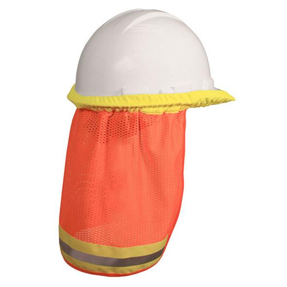 Radians Universal Hi Vis Orange Neck Shade NSO Cap Style Back