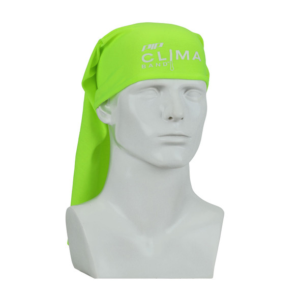 PIP Bag of 10 Evaporative Hi Vis Yellow Clima-Band Cooling Headbands 393-200-YEL-BAG