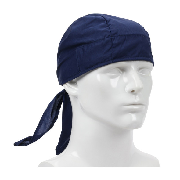 PIP Bag of 10 EZ-Cool Navy Evaporative Cooling Tie Hats 396-300-NAV-BAG