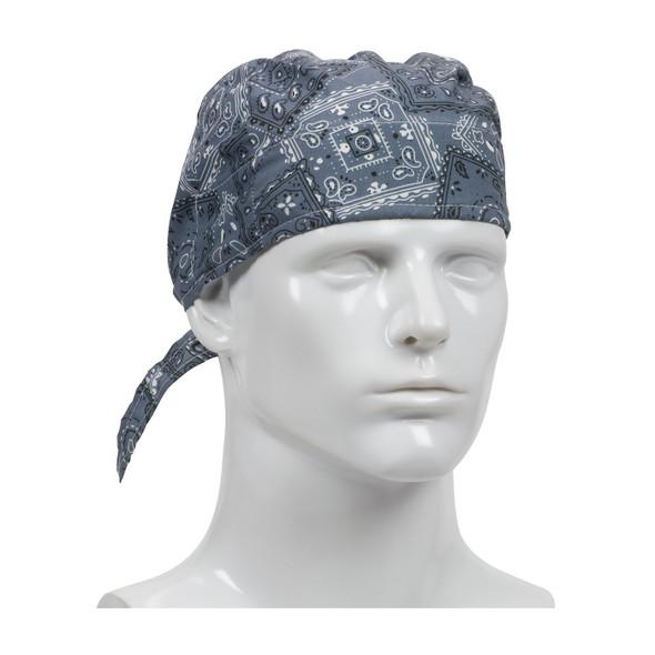 PIP Bag of 10 EZ-Cool Cowboy Blue Evaporative Cooling Tie Hats 396-300-CBL-BAG