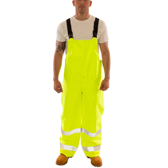 Tingley Class E Hi Vis Yellow Icon Overalls O24122 Front