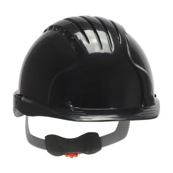 PIP Class E Evolution Deluxe 6151 Cap Style Hard Hat with 6-Point Ratchet Adjustment 280-EV6151 Black