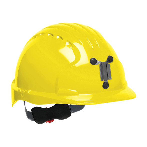 PIP Evolution Deluxe 6151 Made in USA Standard Brim Mining Hard Hat 280-EV6151M - Box of 10 Yellow