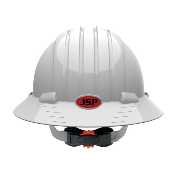 PIP Class E Made in USA Full Brim Hard Hat with 6-Point Ratchet Adjustment 280-EV6161 - Box of 10 Backside