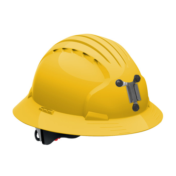 PIP Made in USA Full Brim Mining Hard Hat with 6-Point Ratchet Adjustment 280-EV6161M Yellow