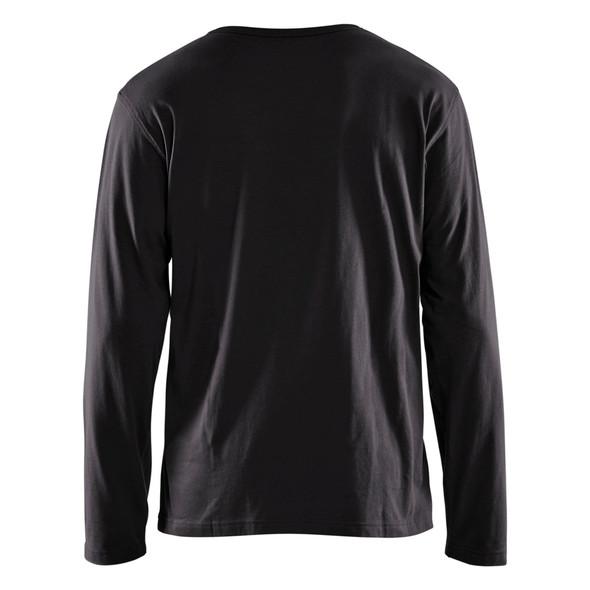 Blaklader Black Long Sleeve T-Shirt 355910429900 Back