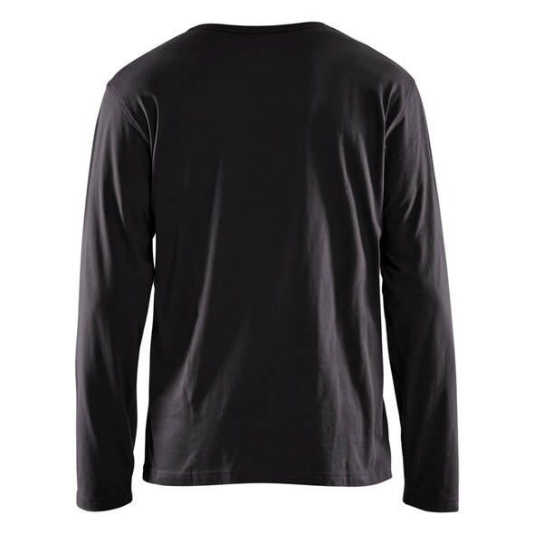 Blaklader Black Long Sleeve T-Shirt 355910429900 Back
