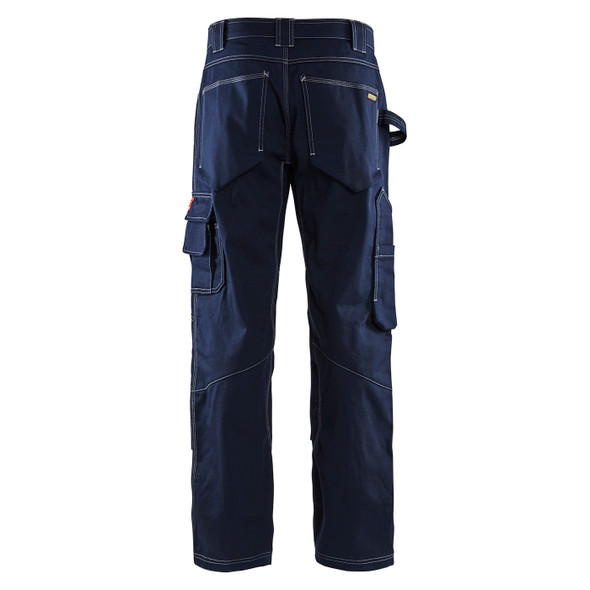Blaklader FR Navy Blue Pants 167615508900 Back