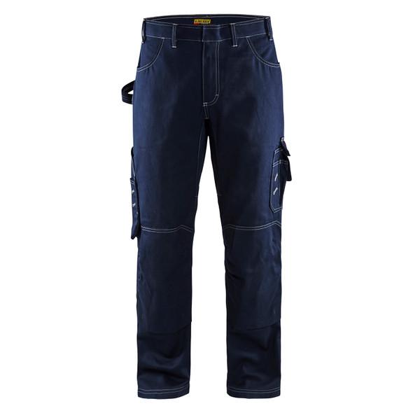 Blaklader FR Navy Blue Pants 167615508900 Front