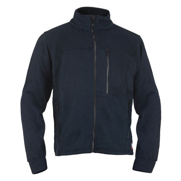 DragonWear FR ALPHA Navy Nomex IIIA Fleece Jacket DF11