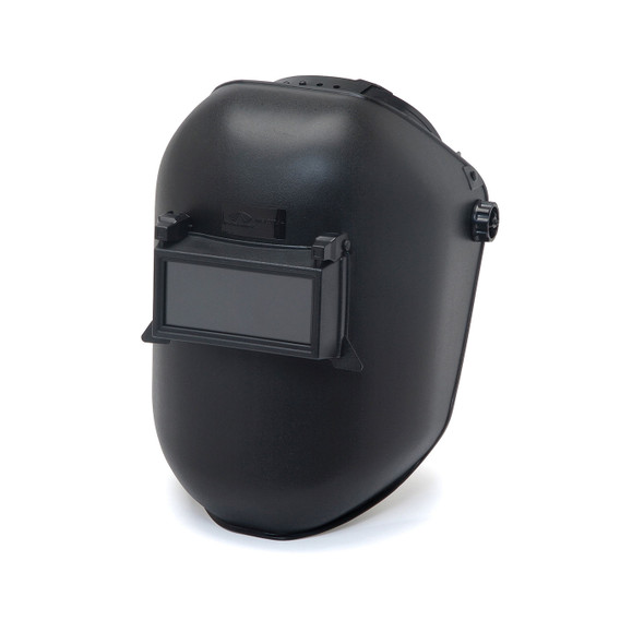 Pyramex Leadhead Black Passive Welding Helmet WHP100 Closed