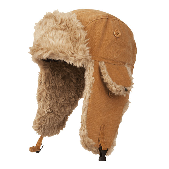 Tough Duck Cold Weather Aviator Hat i15016 Brown