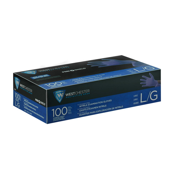 Case of 1000 West Chester PosiShield 3 Mil Medical Industrial Powder Free Nitrile Gloves 2930 Box