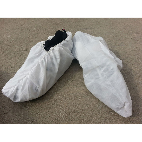 Case of 150 Pair Sunrise SunSoft White Jumbo Shoe Cover with Seamless Bottom T140
