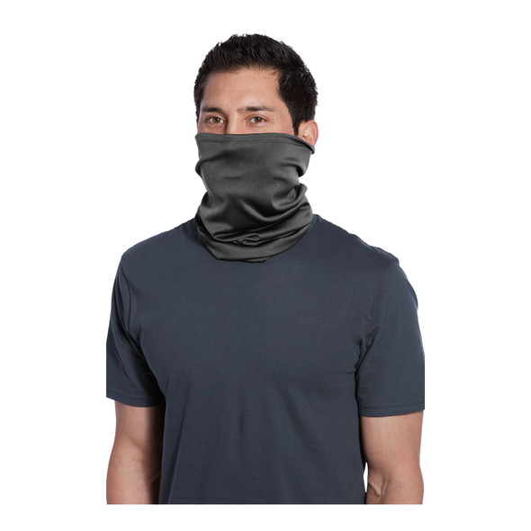 Port Authority Stretch Performance Gaiter G100 Charcoal Front