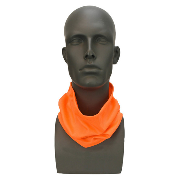 Pack of 25 Radians Made in USA Hi Vis Orange Face Covering Neck Gaiter RAD-NGOBE-PK25 Neck Gaiter
