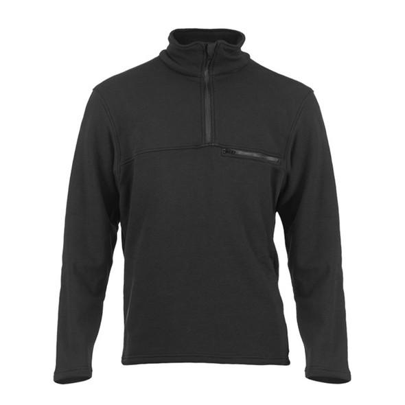 DragonWear FR Elements Dual Hazard Black Made in USA Sweatshirt DFM20DH