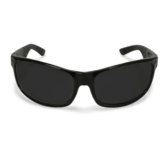 Crossfire CK7 Shiny Black Frame Smoke Lens Safety Glasses 460601 - Box of 12