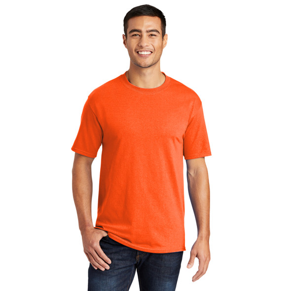 Port and Company Non-ANSI Hi Vis T-Shirt PC55 Safety Orange