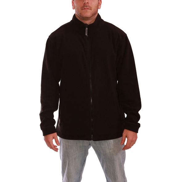 Tingley Phase 1 Black Collared Jacket J72003 Front