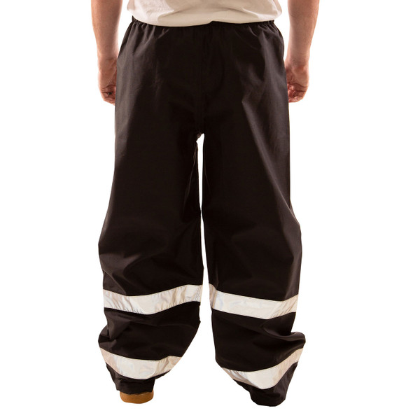 Tingley Enhanced Visibility Black Icon Rain Pants P24123 Back