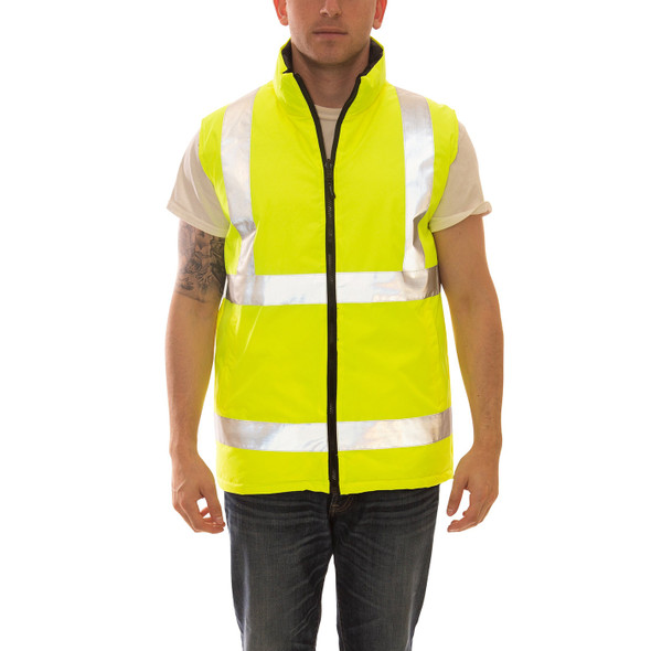 Tingley Class 2 Hi Vis Reversible Insulated Vest V26022 Front