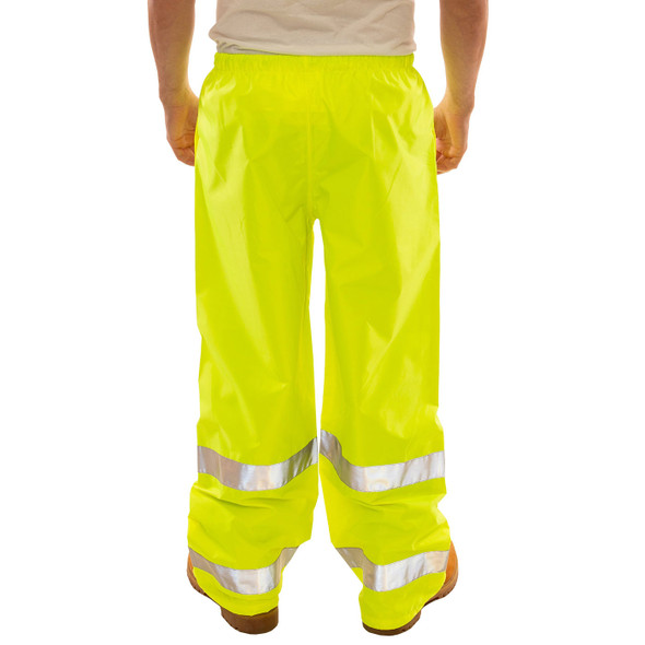 Tingley Class E Hi Vis Yellow Vision Rain Pants P23122 Back