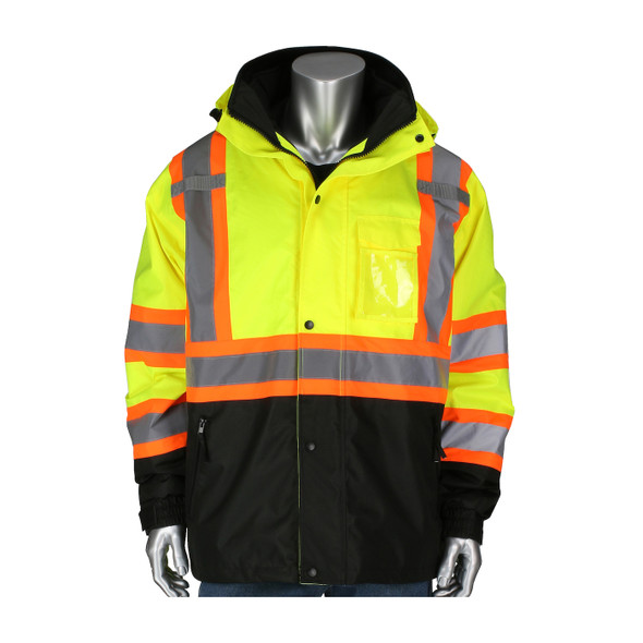 PIP Class 3 Hi Vis Two-Tone 3-in-1 Rip-Stop Jacket 333-1772 Jacket