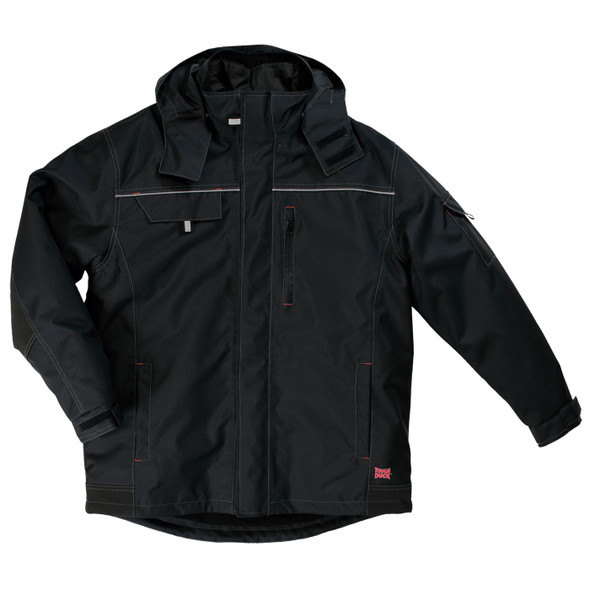 Tough Duck 3-in-1 Parka WJ14 Black Parka Front