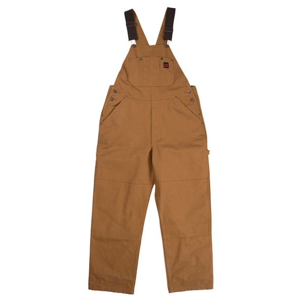 Tough Duck Premium Cotton Duck Unlined Bib Overall i198 Front