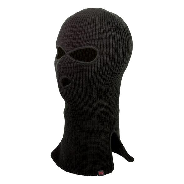 Tough Duck Acrylic 3 Hole Black Face Mask i25516