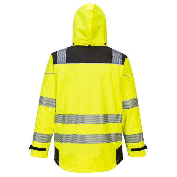 PortWest Class 3 Hi Vis Yellow 3-in-1 Jacket PW365 Back