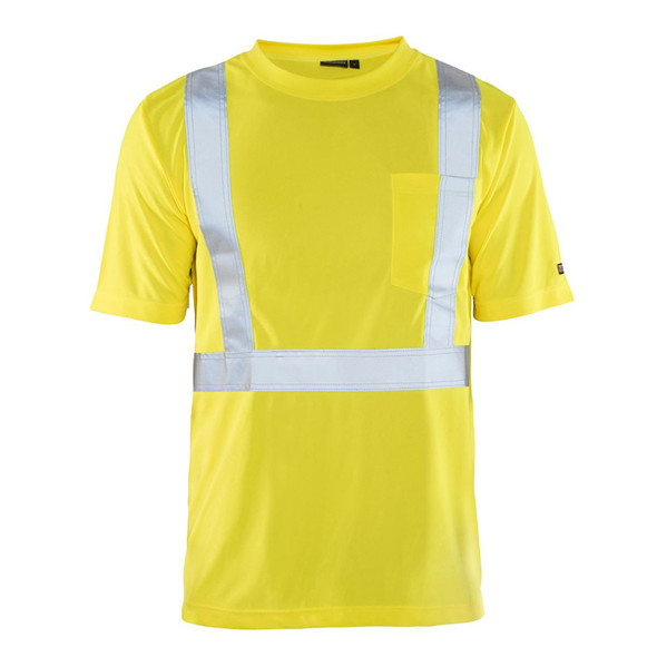 Blaklader Class 2 Hi Vis Crew Neck T-Shirt with UV 50 Portection 348610113300