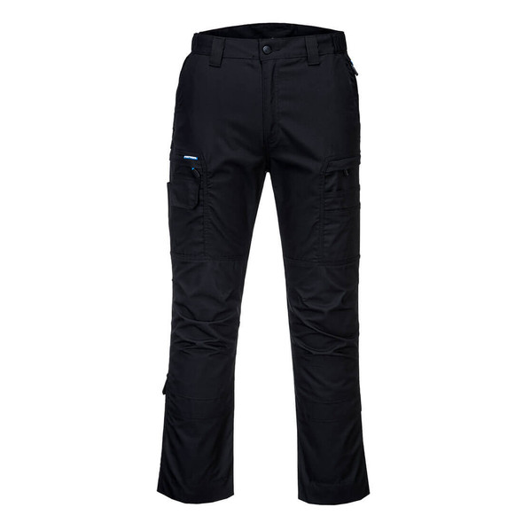 PortWest KX3 Ripstop Stretch Pants T802 Black Front