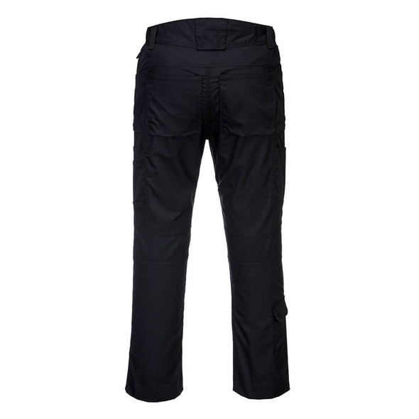 PortWest KX3 Ripstop Stretch Pants T802 Black Back