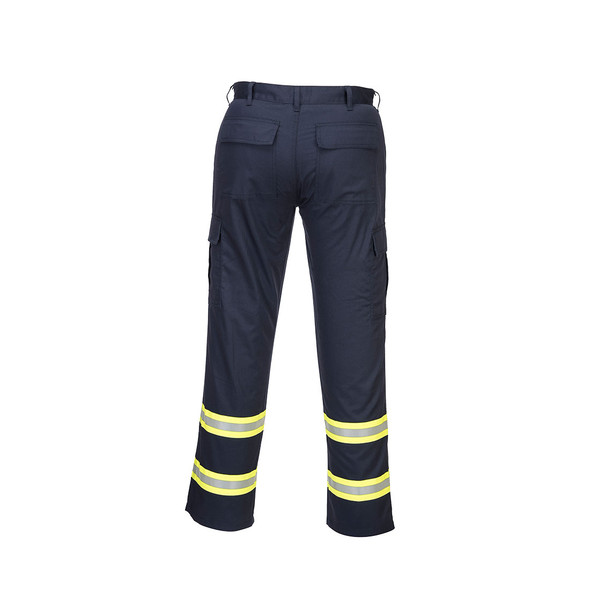 PortWest Enhanced Visibility Navy Iona Work Pants F127 Back