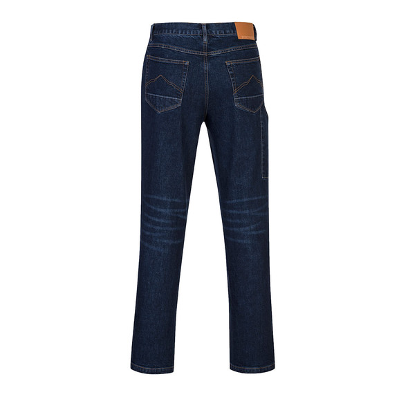 PortWest FR Stretch Indigo Denim Jeans FR54 Back