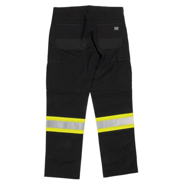 Tough Duck Type E Flex Twill Safety Cargo Pants SP03 Back