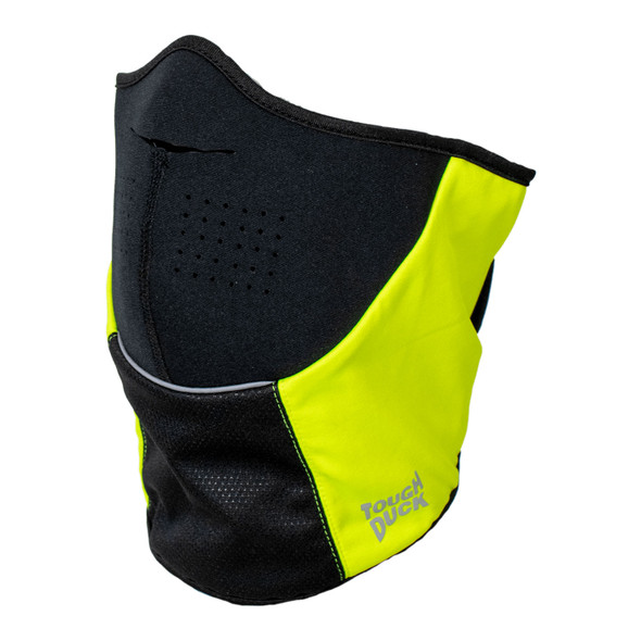 Tough Duck Non-ANSI Hi Vis Yellow and Black Technical Face Mask WA32