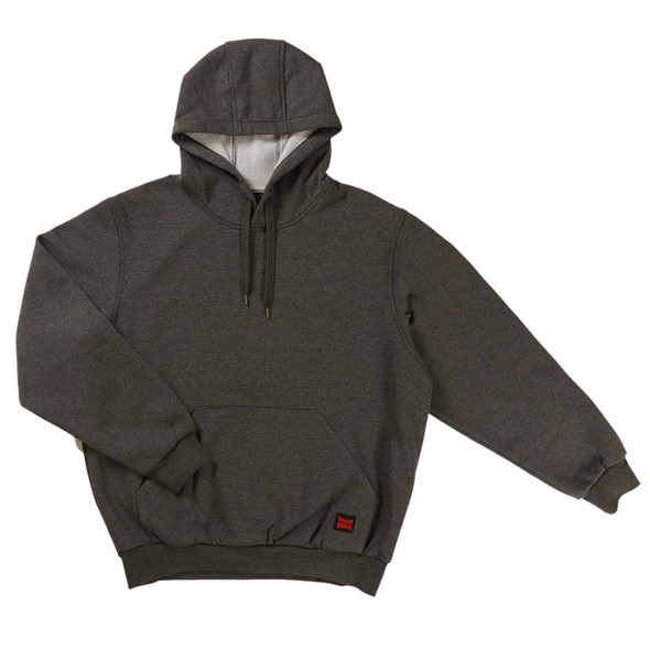 Tough Duck Water Repellent Pullover Hoodie WJ22 Front Charcoal