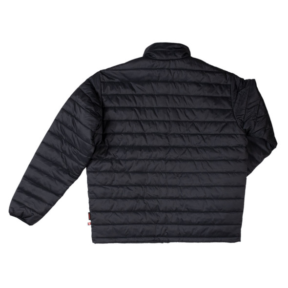 Tough Duck Quilted Insulated Black Mountaineering Jacket WJ23 Back
