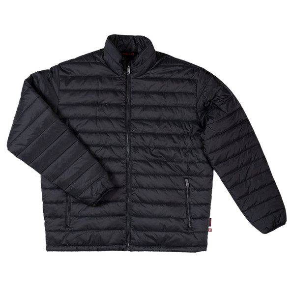 Tough Duck Quilted Insulated Black Mountaineering Jacket WJ23 Front